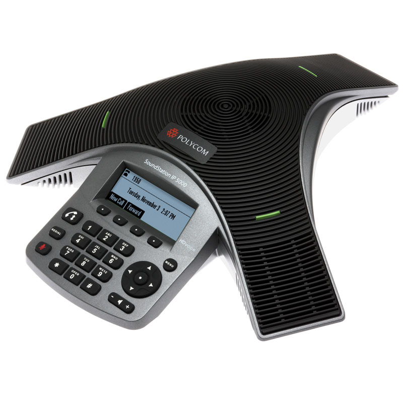Polycom IP5000 Side View - FracTEL