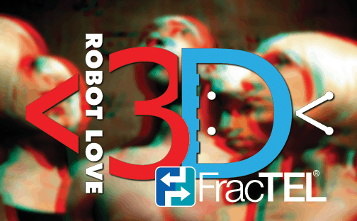 FracTEL Presents Robot Love 3D